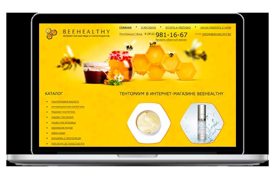 Создание и продвижение интернет-магазина «Bee Нealthy»