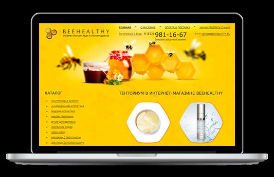 Кейс по созданию и продвижению сайта Beehealthy.ru